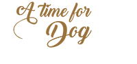logo a time for dog